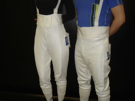 Basic Knickers Fencing Pants  Blue Gauntlet